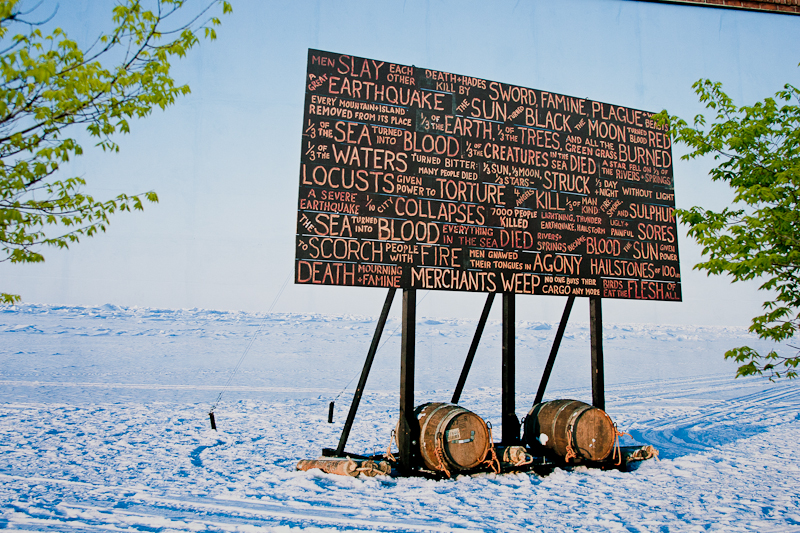 Contact Festival - A Sign in the Northwest Passage