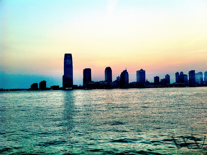 View from Battery Park in the Summer